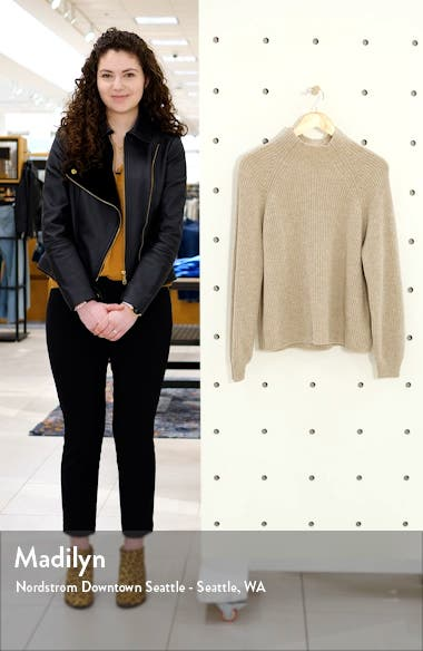 Georges Mock Neck Cashmere Sweater, sales video thumbnail