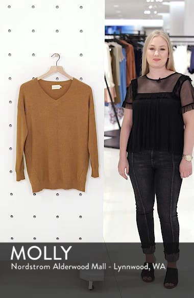 Exposed Seam Sweater, sales video thumbnail
