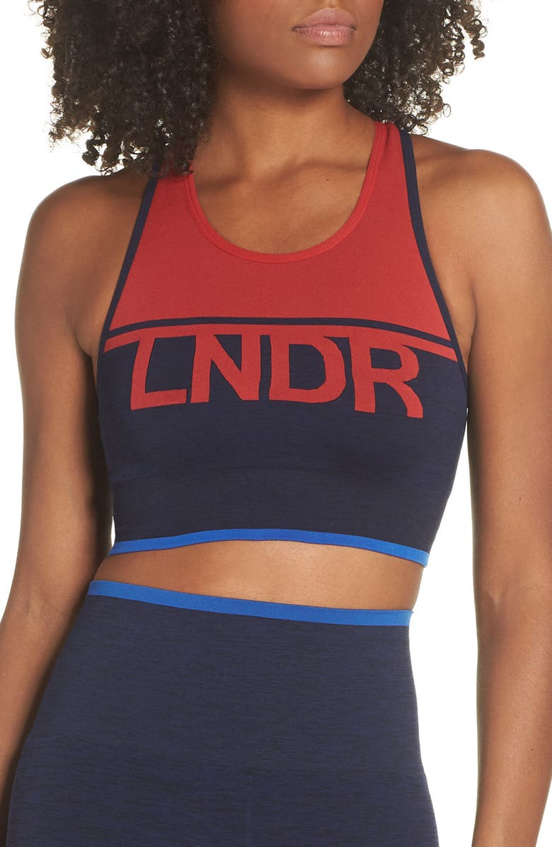 LNDR A-Team Sports Bra, Main, color, 400