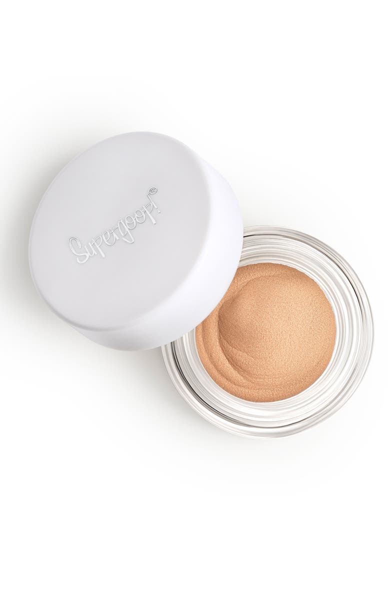 SUPERGOOP!<SUP>®</SUP> Supergoop! Shimmershade Illuminating Cream Eyeshadow SPF 30, Main, color, GOLDEN HOUR