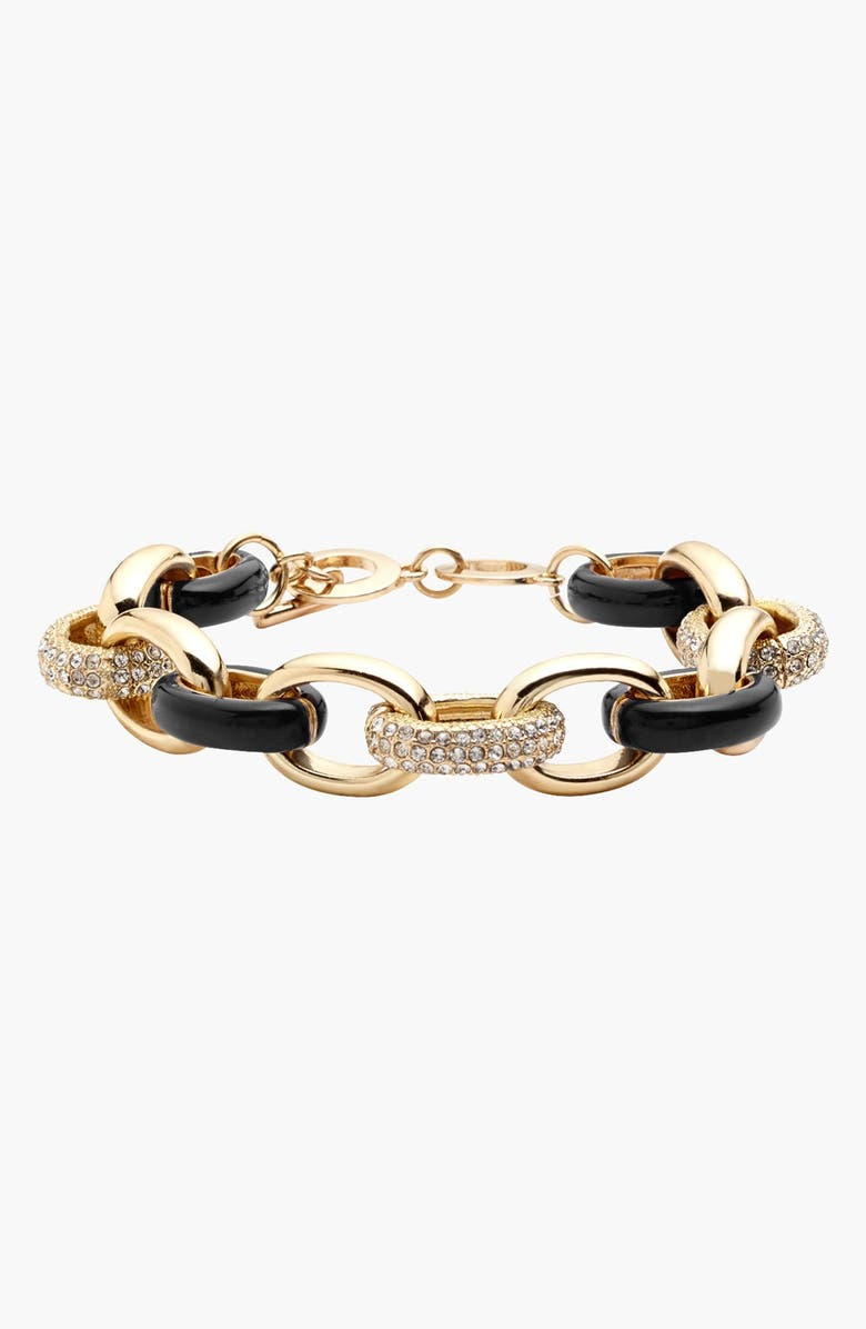 NORDSTROM 'Yacht Club' Chain Link Toggle Bracelet, Main, color, 001