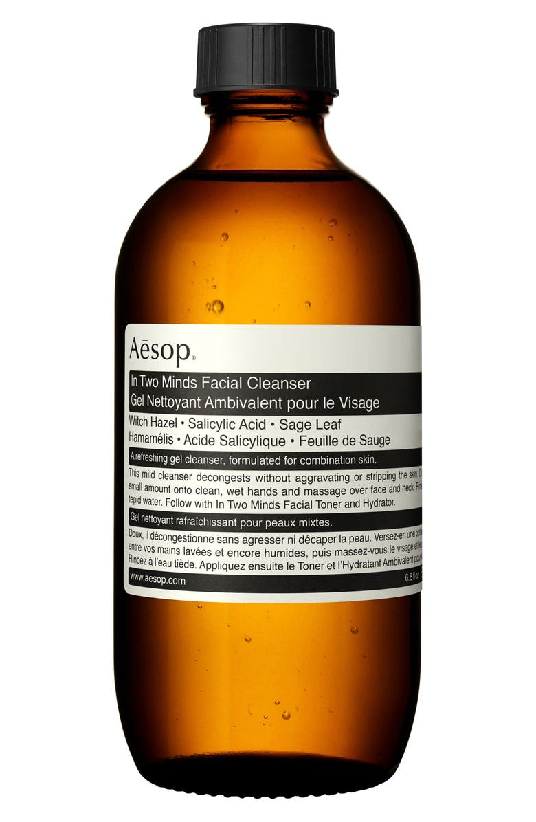 AESOP In Two Minds Facial Cleanser, Main, color, NO COLOR
