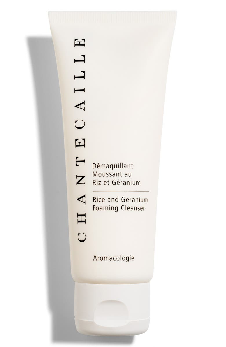 CHANTECAILLE Rice and Geranium Foaming Cleanser, Main, color, NO COLOR