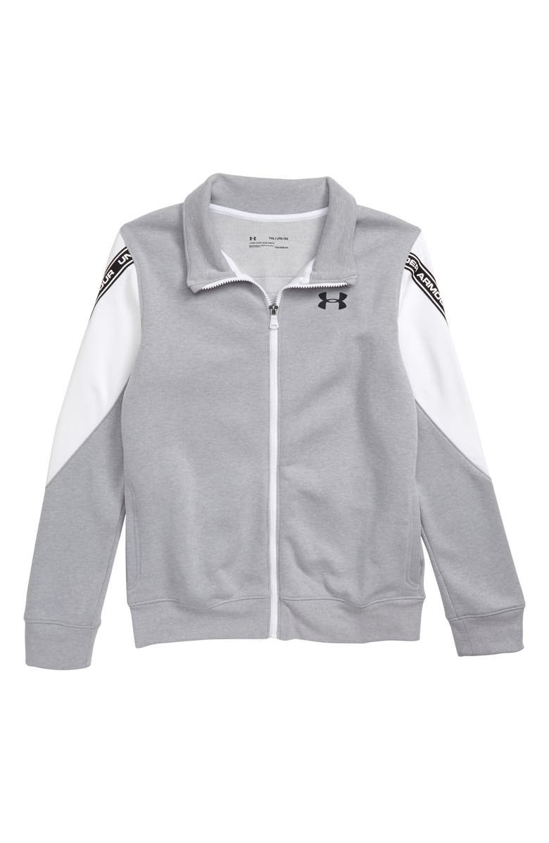UNDER ARMOUR Sportstyle ColdGear<sup>®</sup> Full Zip Jacket, Main, color, 022