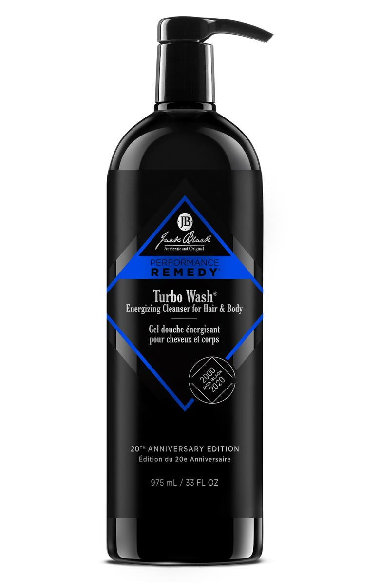 JACK BLACK Jumbo Turbo Wash<sup>®</sup> Energizing Cleanser for Hair & Body, Main, color, 000