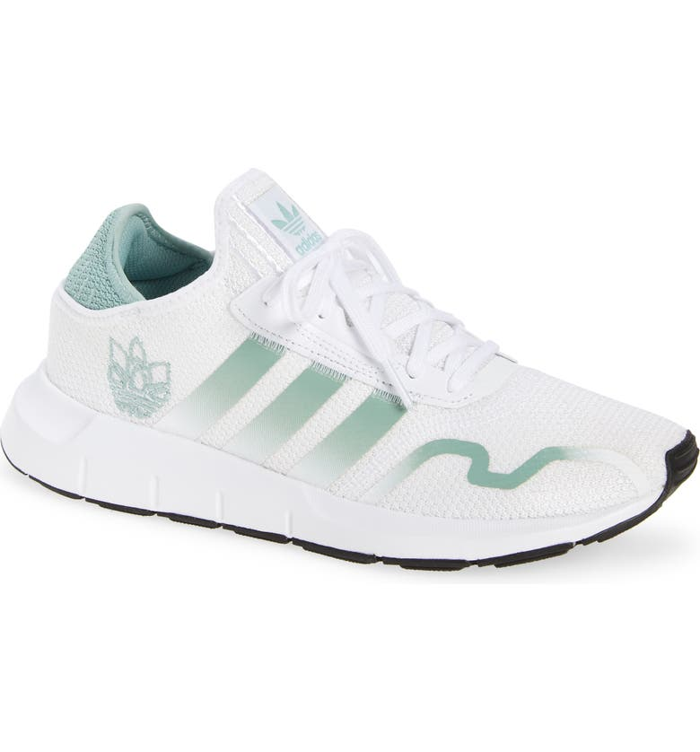 ADIDAS Swift Run X Sneaker, Main, color, FTWR WHITE/ HAZY GREEN/ CORE B