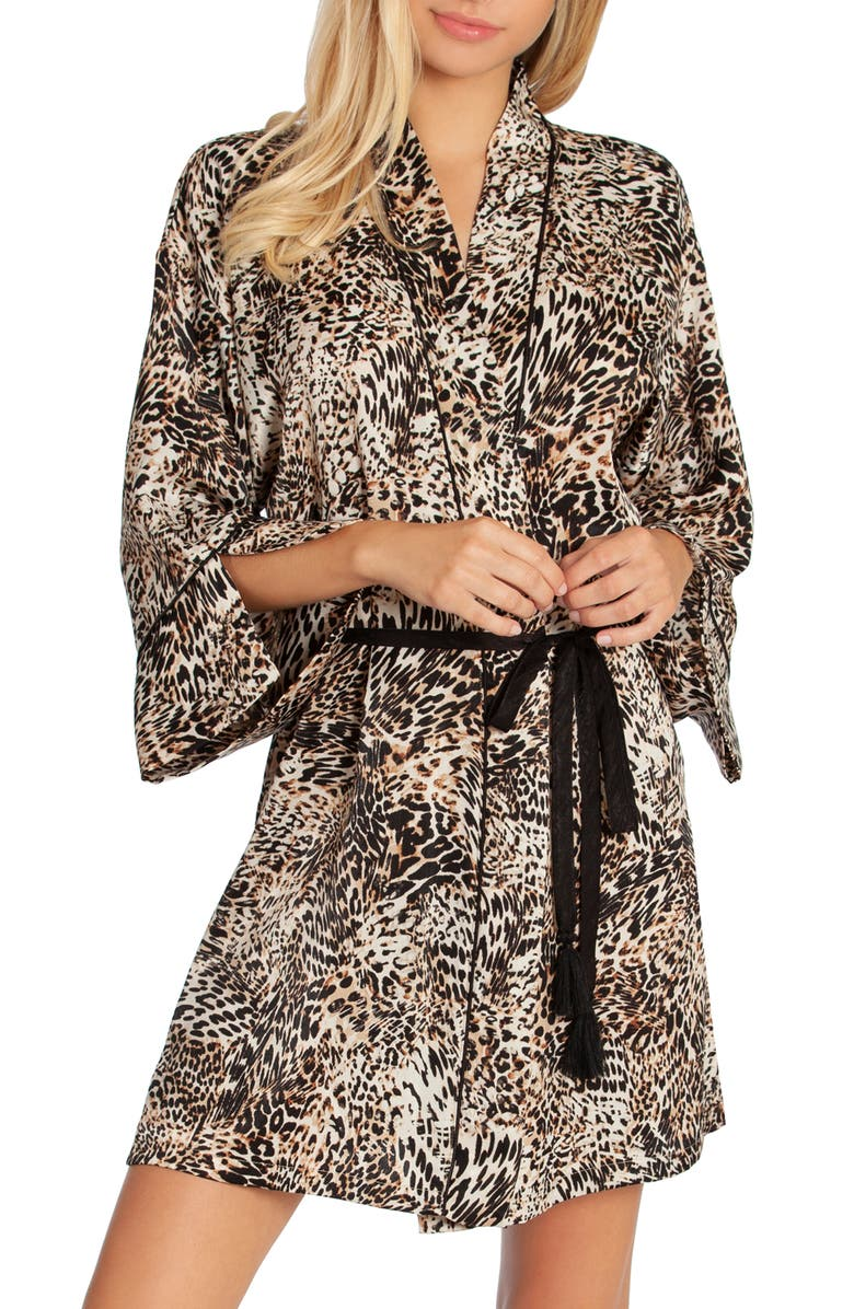 IN BLOOM BY JONQUIL Animal Print Wrap, Main, color, 200