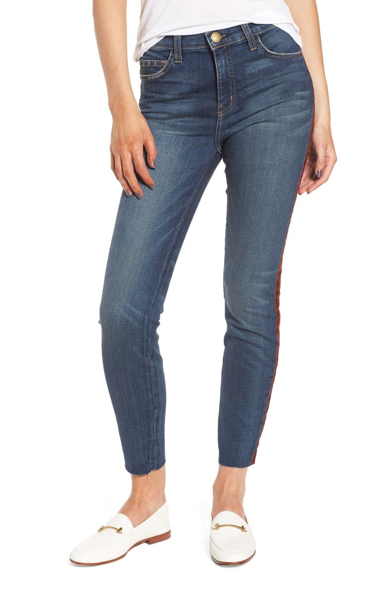 CURRENT/ELLIOTT The High Waist Stiletto Ankle Skinny Jeans, Main, color, 478