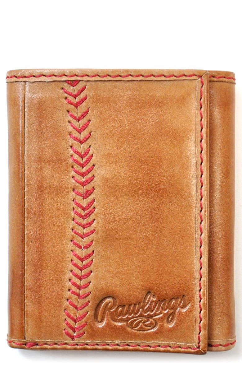 RAWLINGS <sup>®</sup> Baseball Stitch Wallet, Main, color, 204