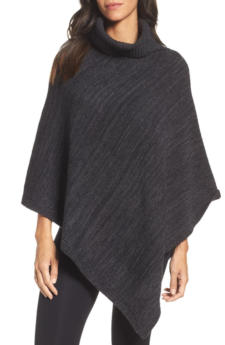 BAREFOOT DREAMS<SUP>®</SUP> Cozychic<sup>®</sup> Point Dume Poncho, Main, color, 001