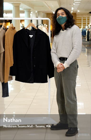 Oversize Single Breasted Blazer, sales video thumbnail