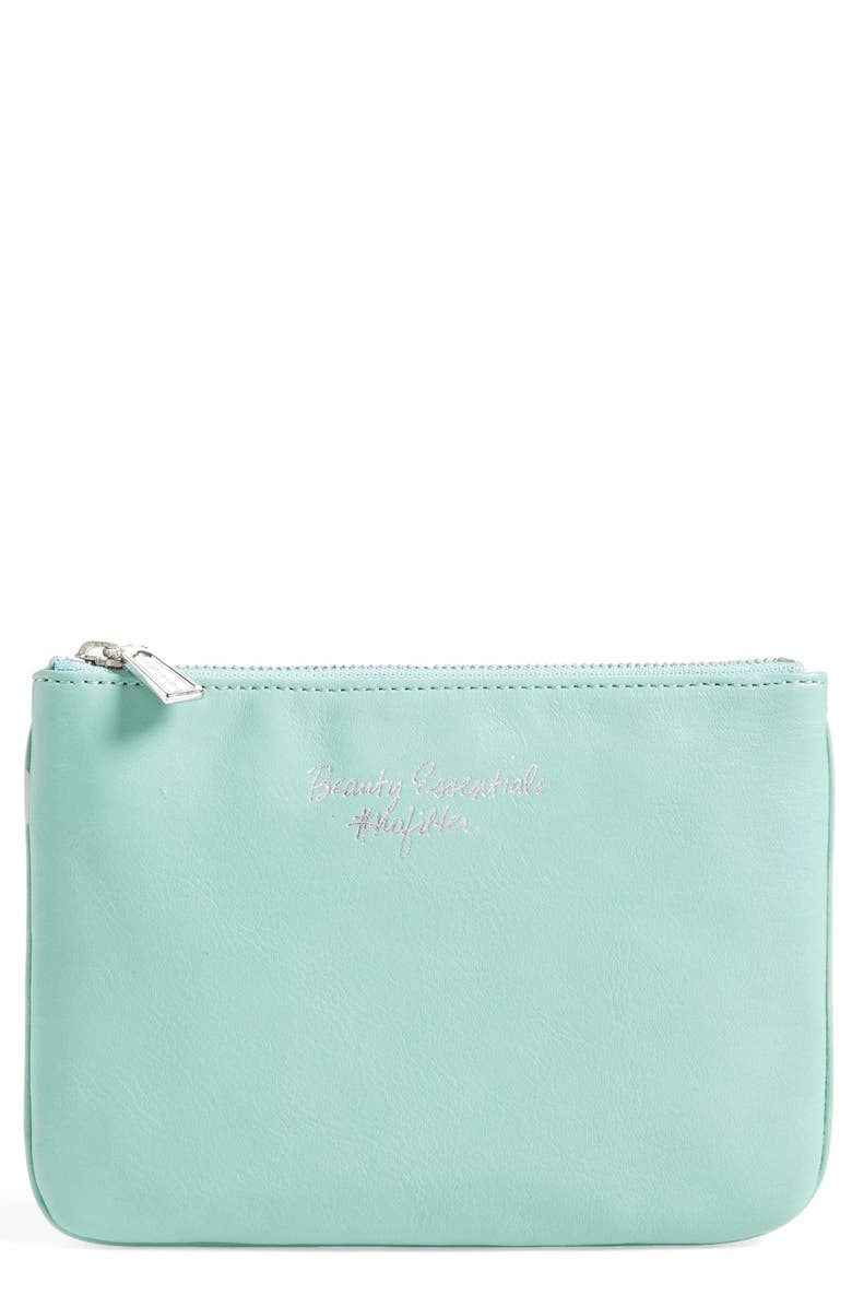 REBECCA MINKOFF 'Erin - Beauty Essentials #nofilter' Pouch, Main, color, 300