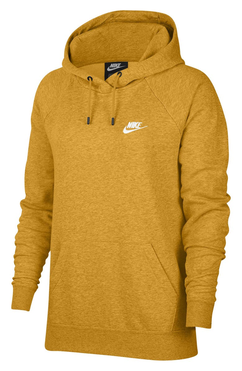 NIKE Sportswear Essential Pullover Fleece Hoodie, Main, color, CHUTNEY/HEATHER/WHITE