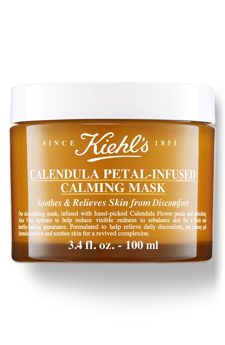 KIEHL'S SINCE 1851 Calendula Petal-Infused Calming Mask, Main, color, NO COLOR