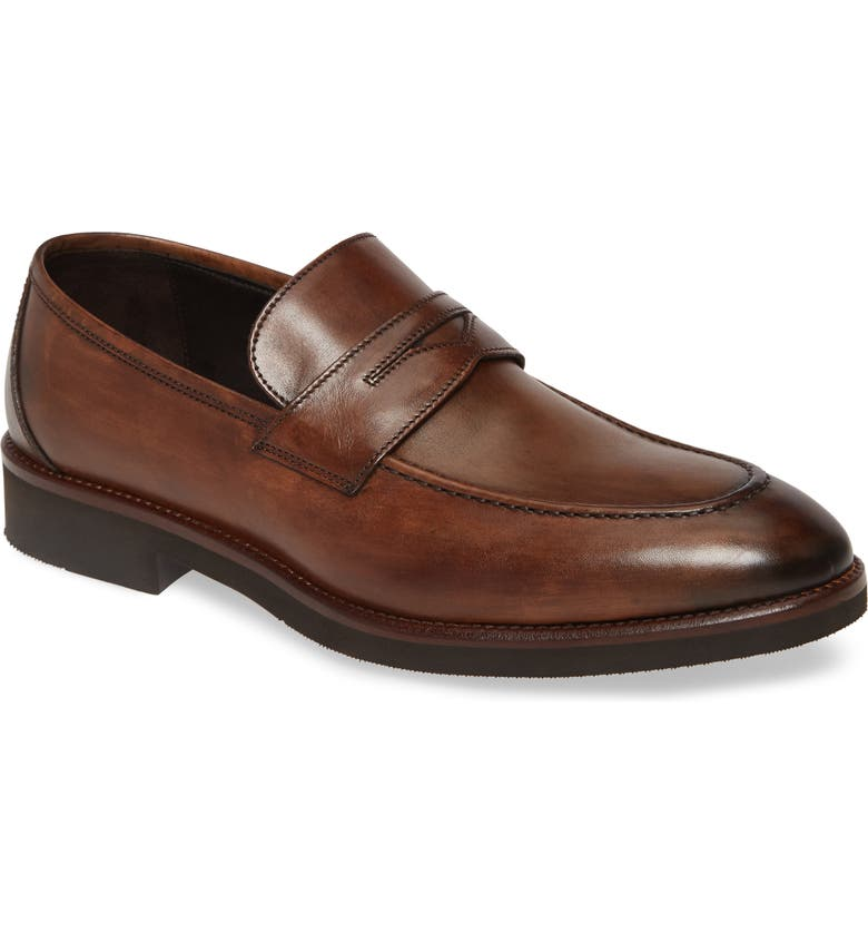 JOHNSTON & MURPHY Ridgeland Penny Loafer, Main, color, 200