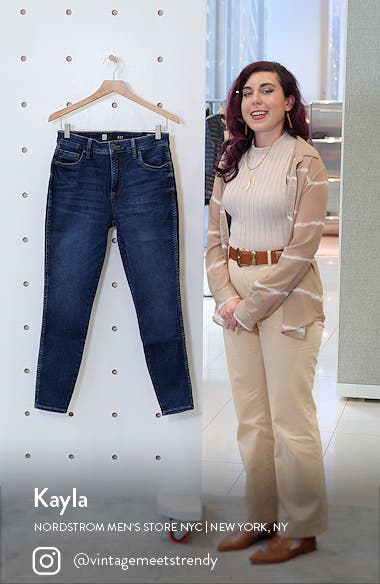 Donna Fab Ab High Waist Ankle Skinny Jeans, sales video thumbnail