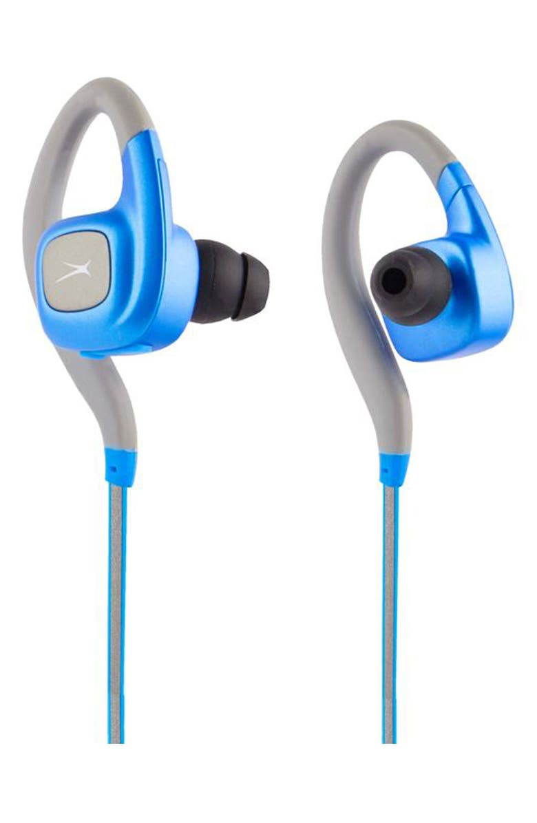 ALTEC LANSING Waterproof Sport Earbuds, Main, color, BLUE
