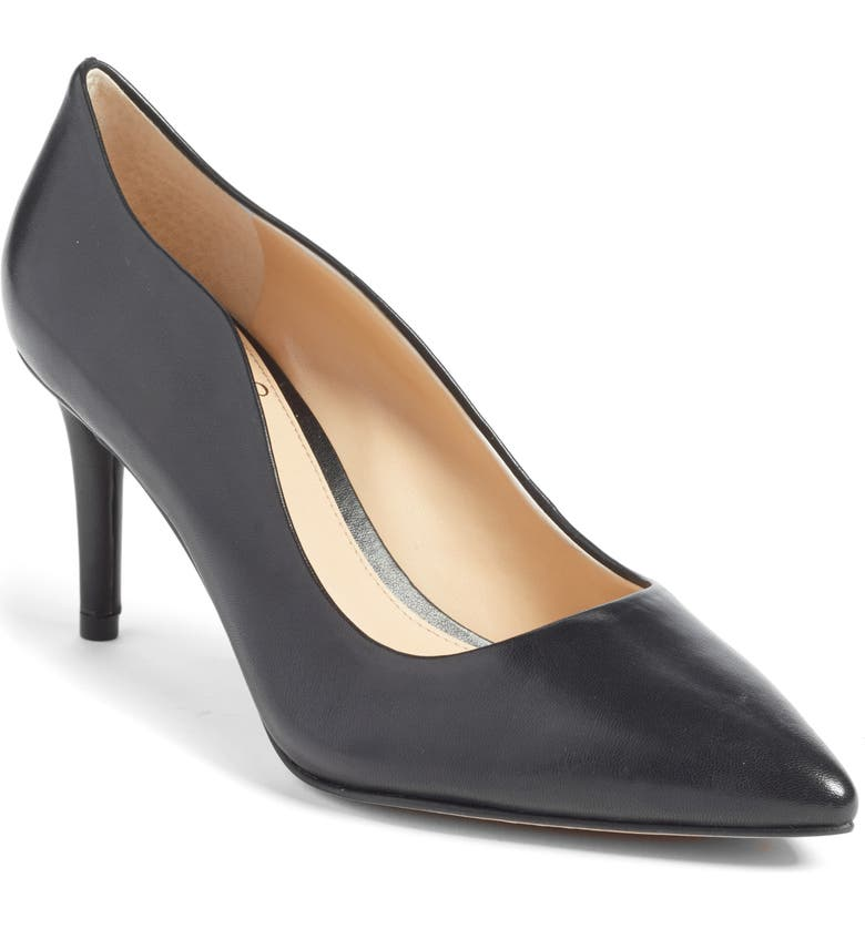 VINCE CAMUTO Jaynita Pointy Toe Pump, Main, color, 001