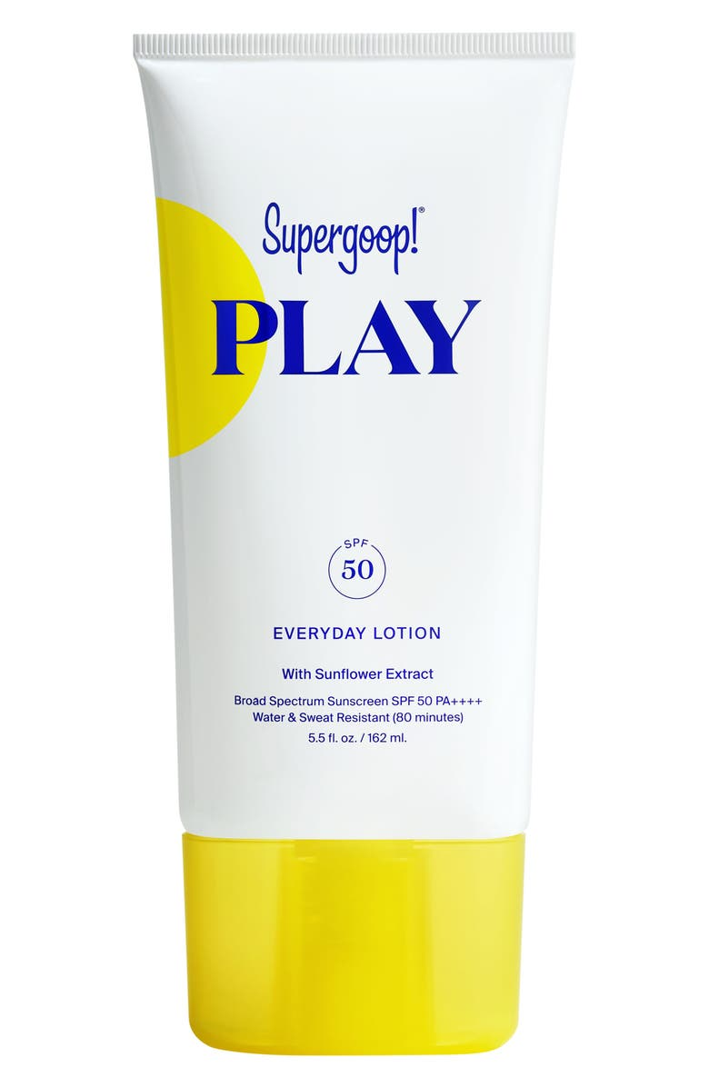 SUPERGOOP!<SUP>®</SUP> Supergoop! Play Everyday Lotion SPF 50 Sunscreen, Main, color, No Color
