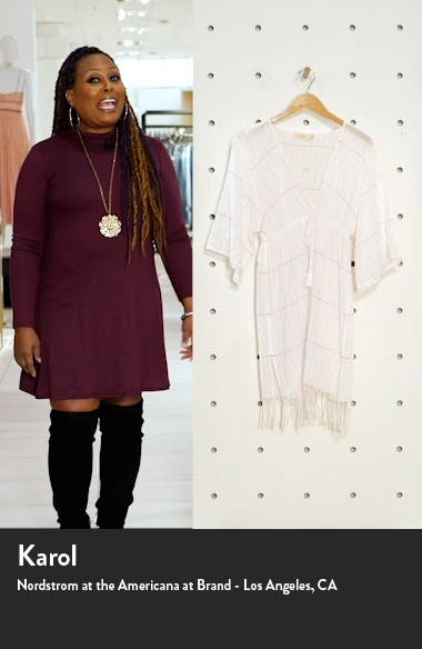 Stripe Cover-Up Tunic, sales video thumbnail