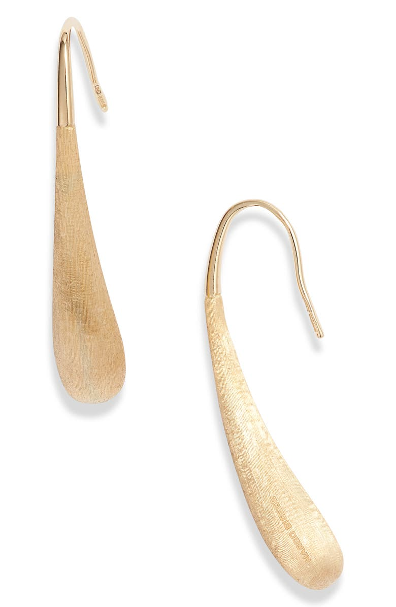 MARCO BICEGO Lucia Drop Earrings, Main, color, YELLOW GOLD