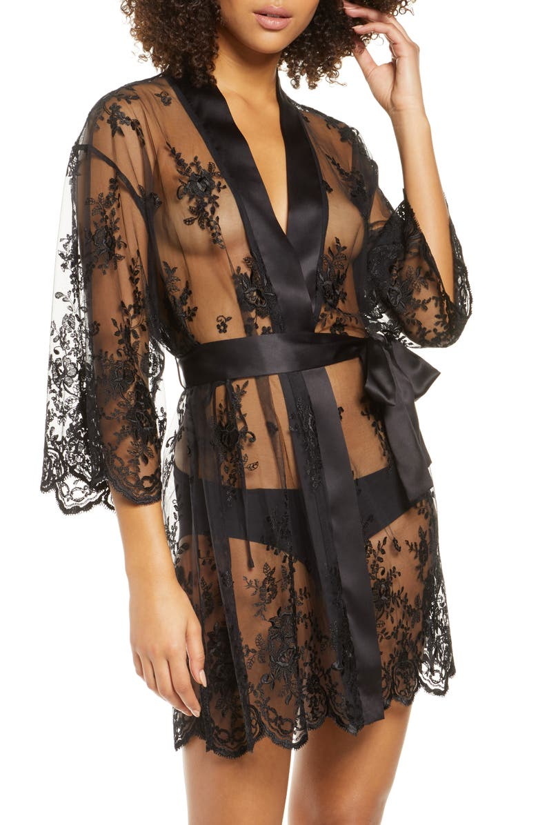 RYA COLLECTION Darling Lace Wrap, Main, color, BLACK