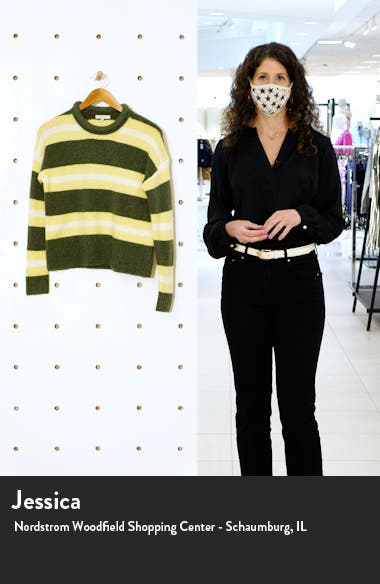 Striped Fulton Pullover Sweater, sales video thumbnail