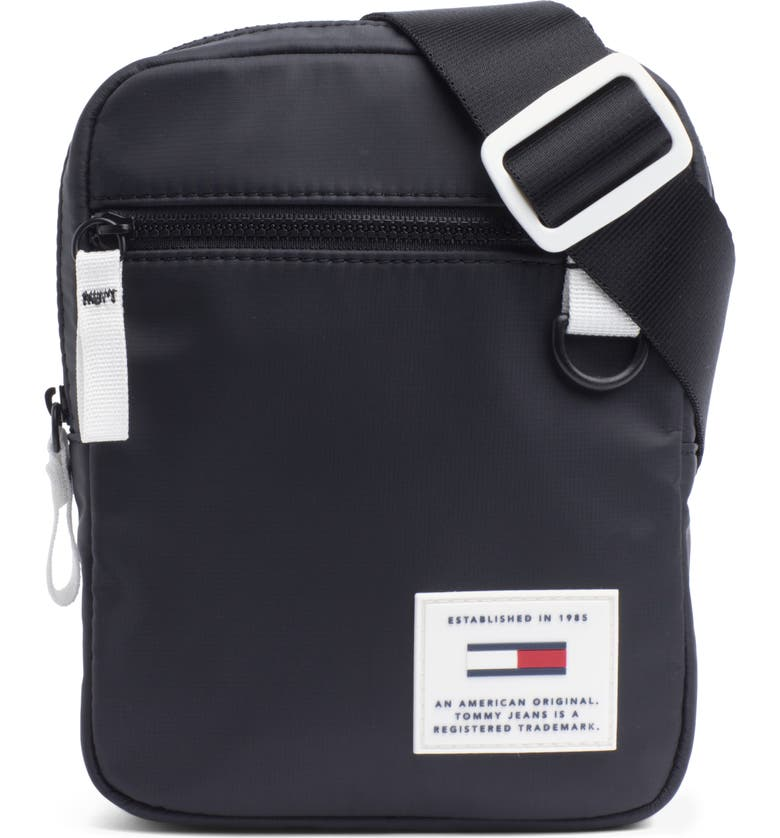 TOMMY JEANS Urban Tech Reporter Crossbody Bag, Main, color, 001