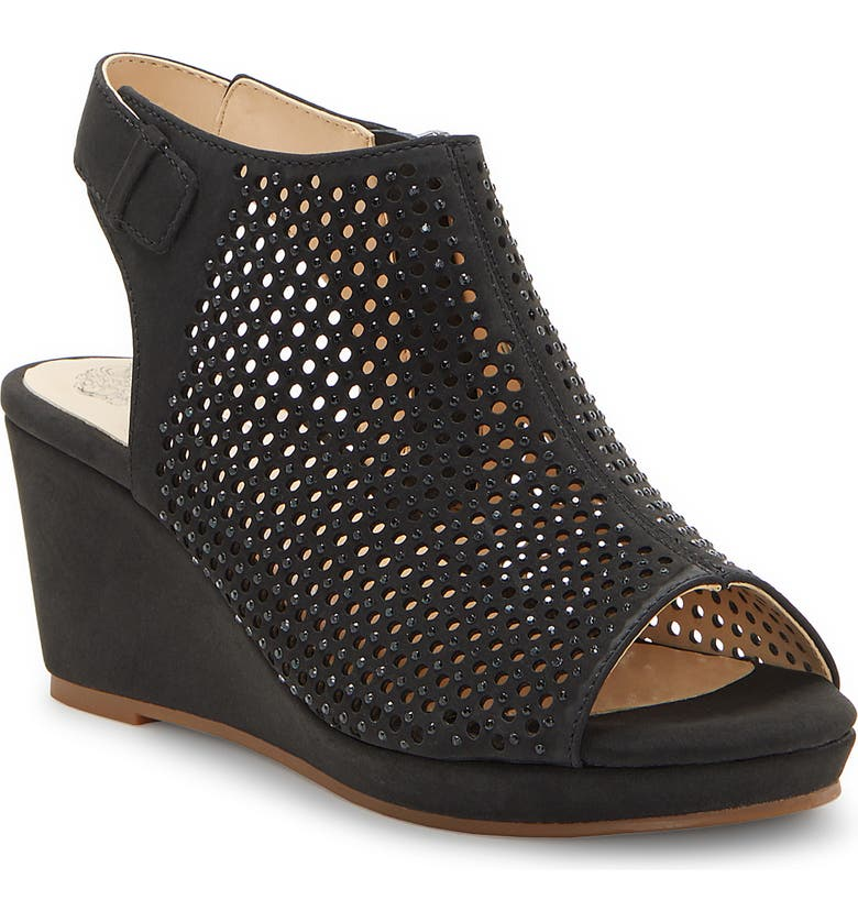 VINCE CAMUTO Oriana Wedge, Main, color, 001