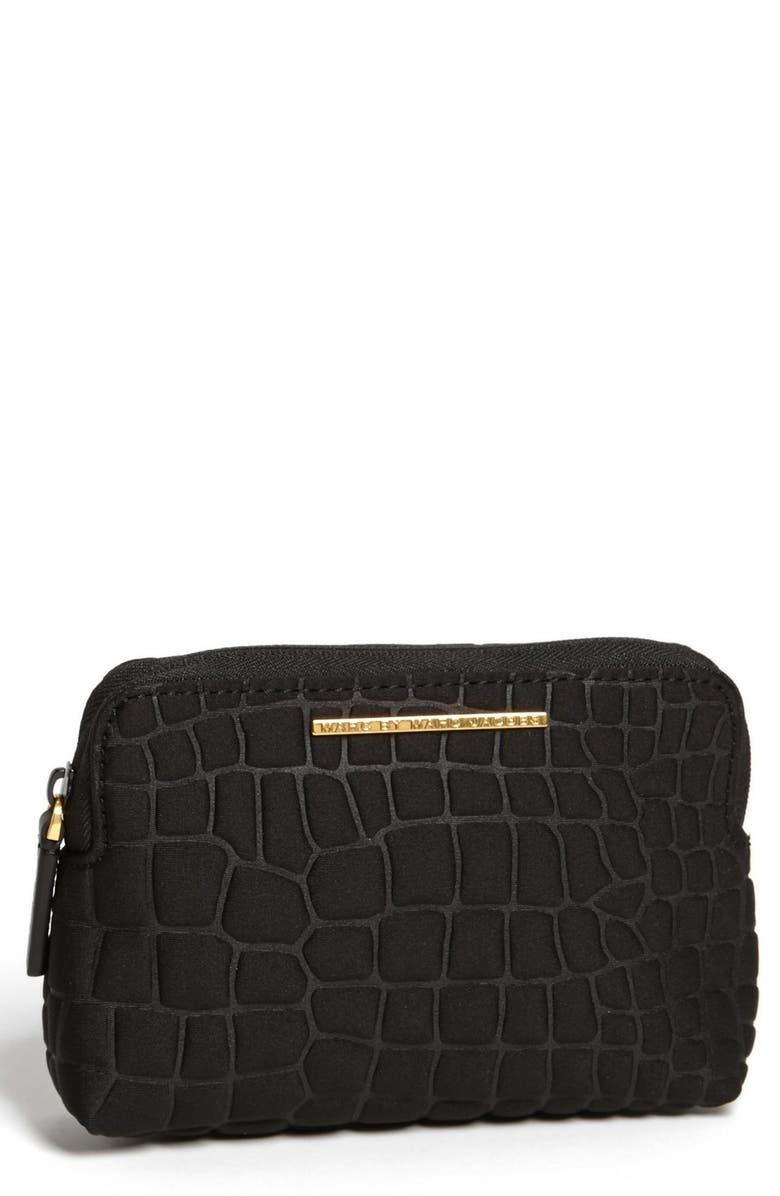MARC JACOBS MARC BY MARC JACOBS 'In a Bind' Cosmetics Case, Main, color, Black