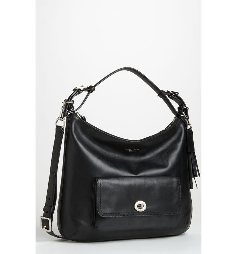 COACH 'Legacy - Courtenay' Leather Hobo, Main, color, 001