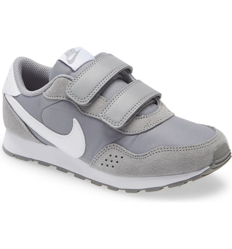 NIKE MD Valiant Sneaker, Main, color, PARTICLE GREY/ WHITE