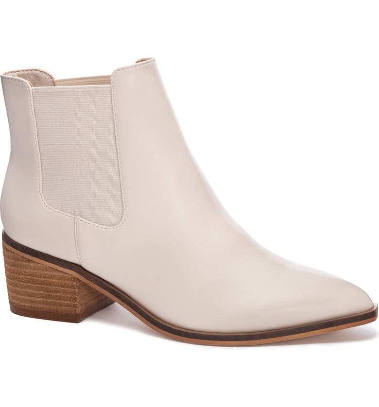 CHINESE LAUNDRY Friday Chelsea Boot, Main, color, CLEAR FAUX LEATHER
