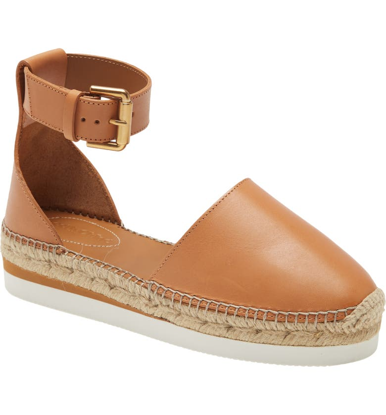 SEE BY CHLOÉ Glyn Espadrille, Main, color, CUOIO