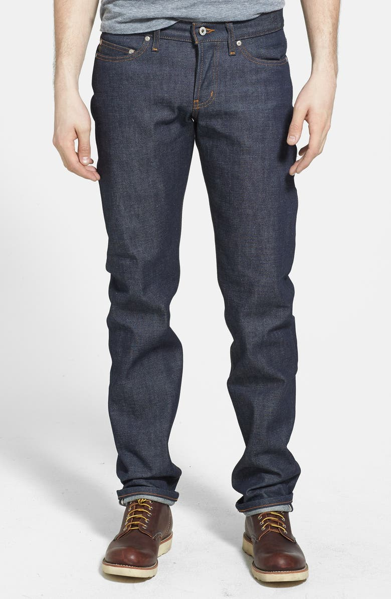 NAKED & FAMOUS DENIM 'Weird Guy' Slim Fit Jeans, Main, color, 401
