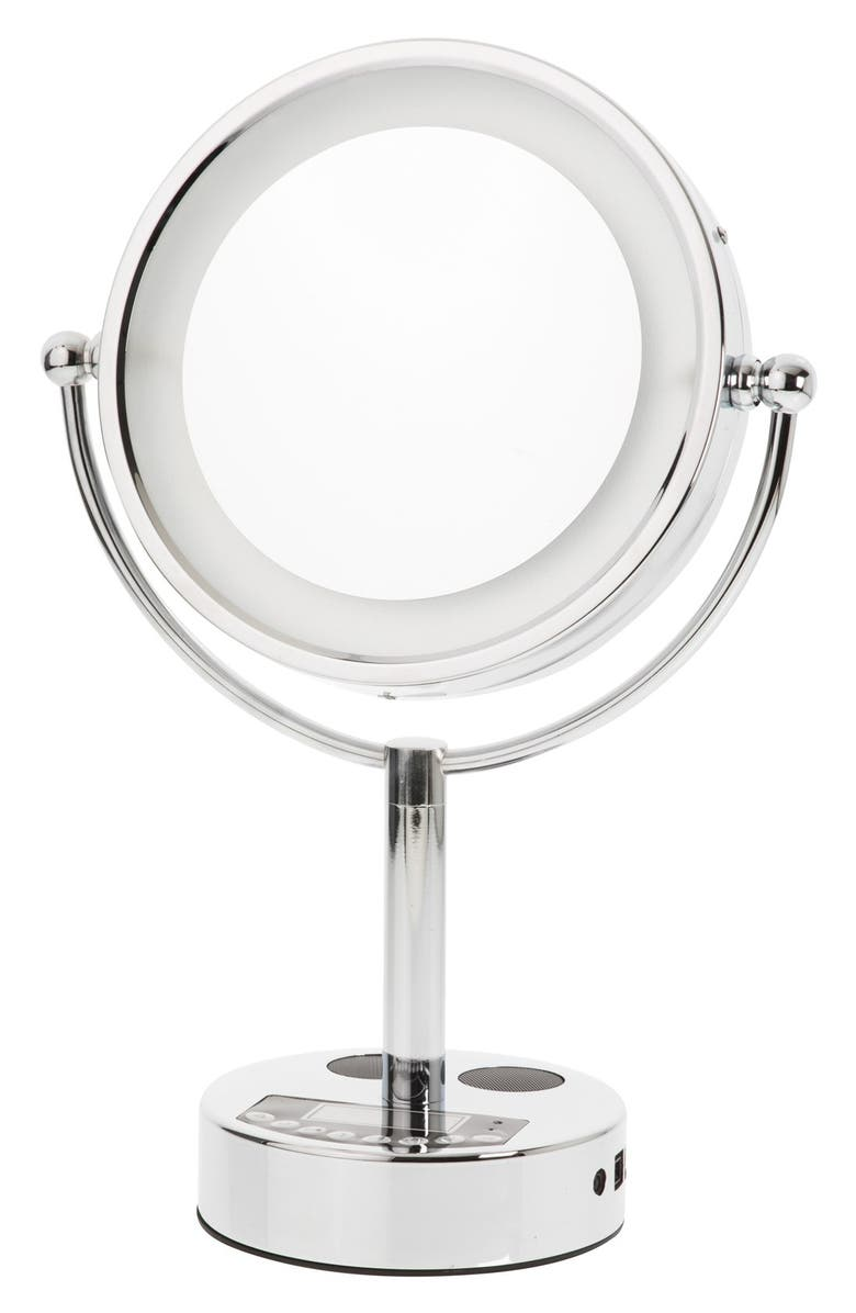 DANIELLE CREATIONS LED Bluetooth<sup>®</sup> Music & Phone Mirror, Main, color, No Color