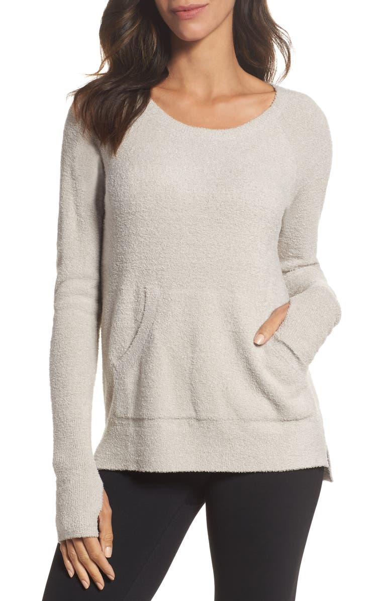 BAREFOOT DREAMS<SUP>®</SUP> Cozychic Lite<sup>®</sup> Pullover, Main, color, SILVER