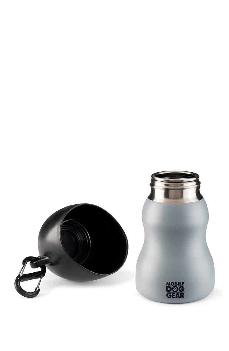 MOBILE DOG GEAR 9.5oz. Water Bottle - Gray, Main, color, GRAY