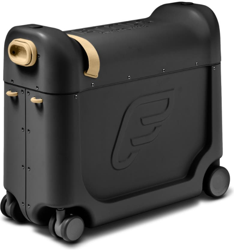 STOKKE Jetkids by Stokke Bedbox<sup>®</sup> 19-Inch Ride-On Carry-On Suitcase, Main, color, Black