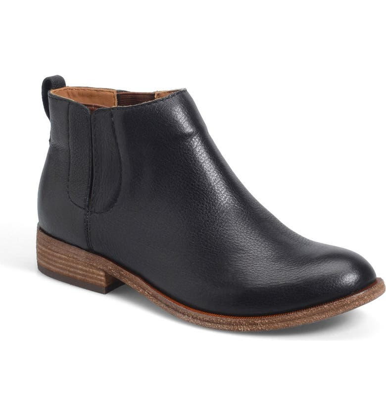 KORK-EASE<SUP>®</SUP> Velma Bootie, Main, color, BLACK/ BLACK
