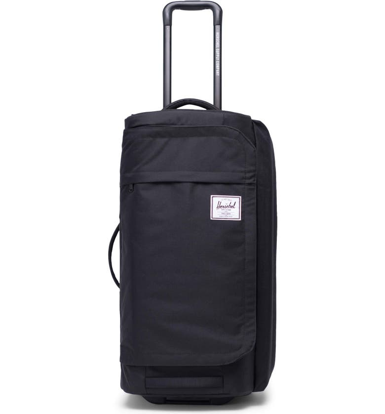 HERSCHEL SUPPLY CO. Wheelie Outfitter 70-Liter Duffle Bag, Main, color, BLACK