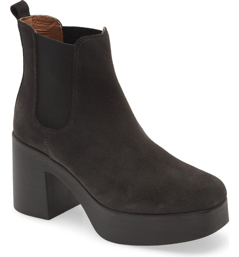 INTENTIONALLY BLANK Drue Water Resistant Platform Bootie, Main, color, 001