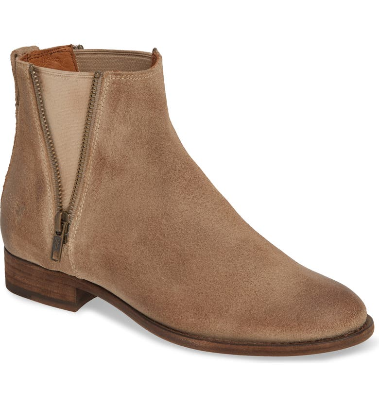 FRYE Carly Chelsea Boot, Main, color, ASH