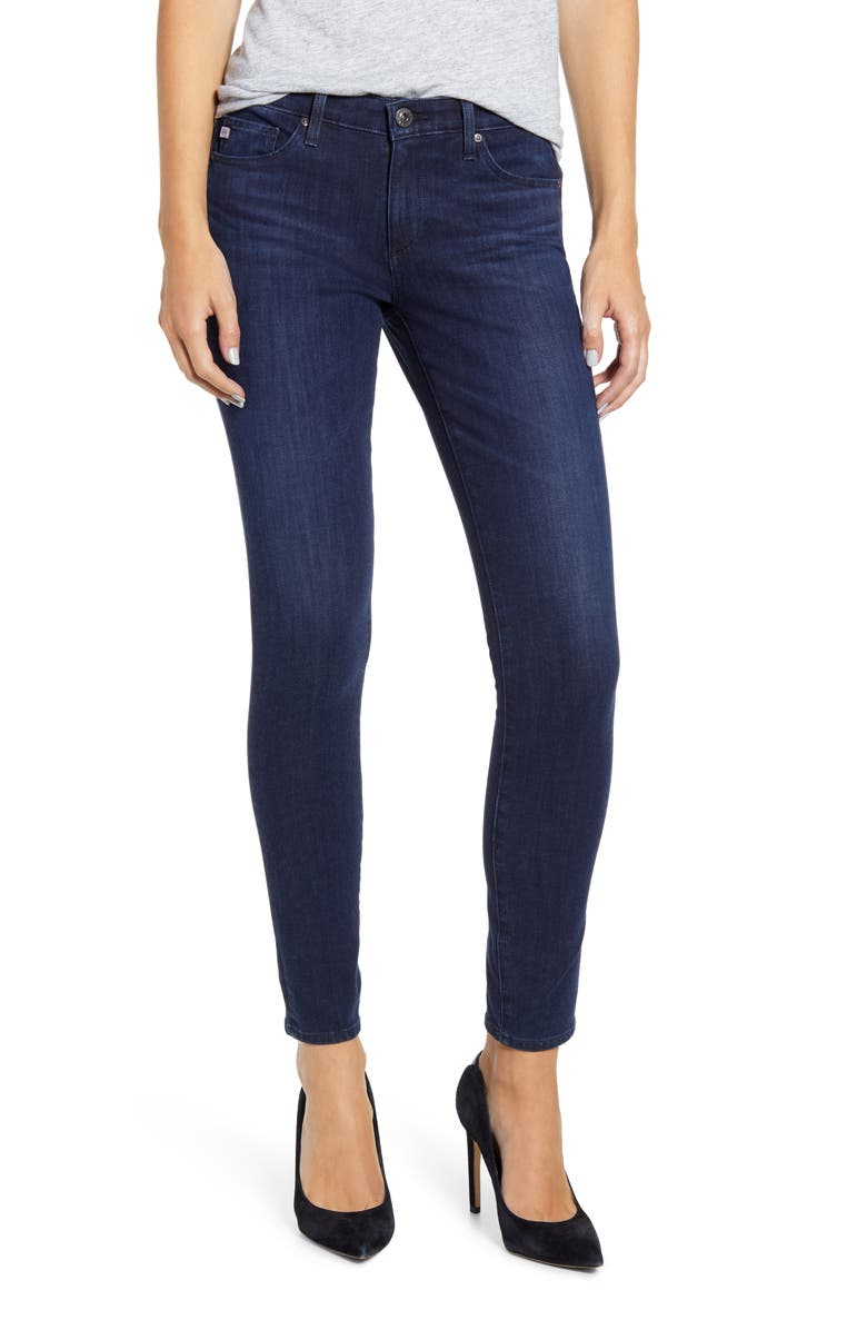 AG The Legging Ankle Skinny Jeans, Main, color, 417
