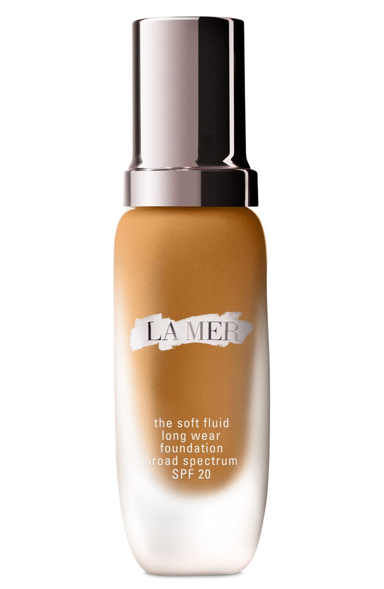 LA MER Soft Fluid Long Wear Foundation SPF 20, Main, color, 53 Amber (Warm/Gold)