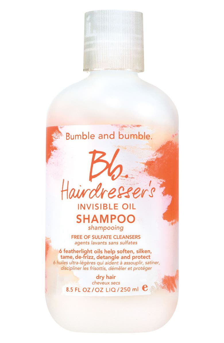BUMBLE AND BUMBLE. Hairdresser's Invisible Oil Shampoo, Main, color, NO COLOR
