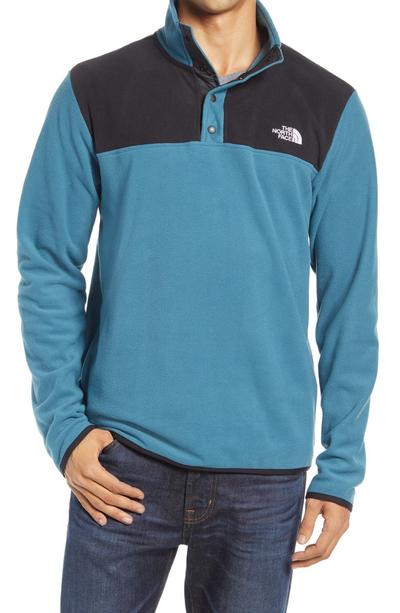 THE NORTH FACE TKA Glacier Snap-Neck Fleece Pullover, Main, color, 401