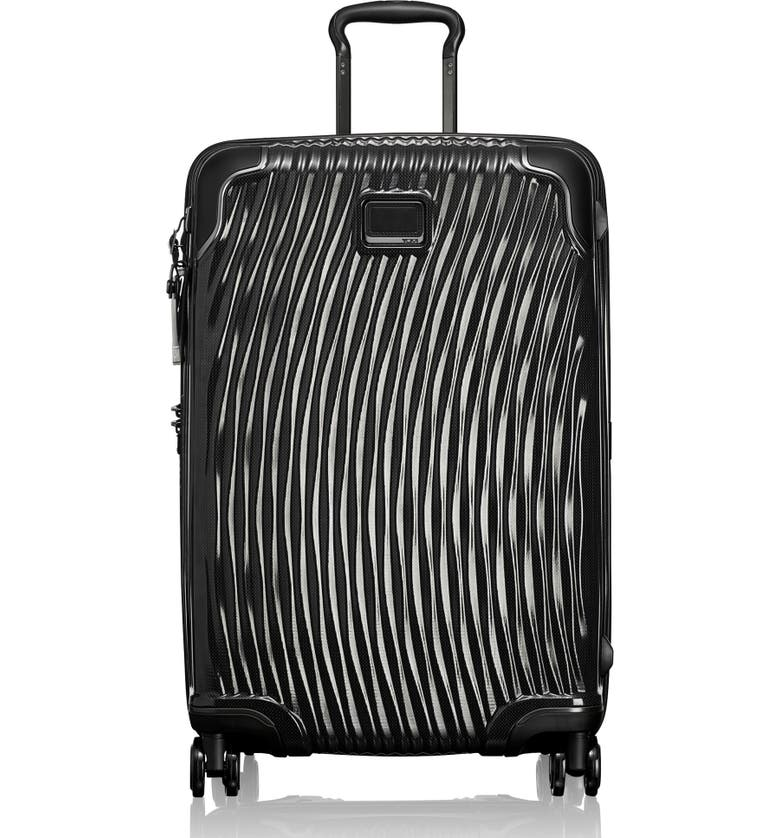 TUMI Latitude 27-Inch Short Trip Rolling Suitcase, Main, color, BLACK