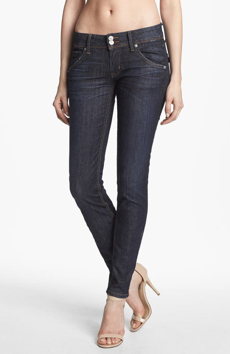 HUDSON JEANS 'Collin' Mid Rise Skinny Jeans, Main, color, 420