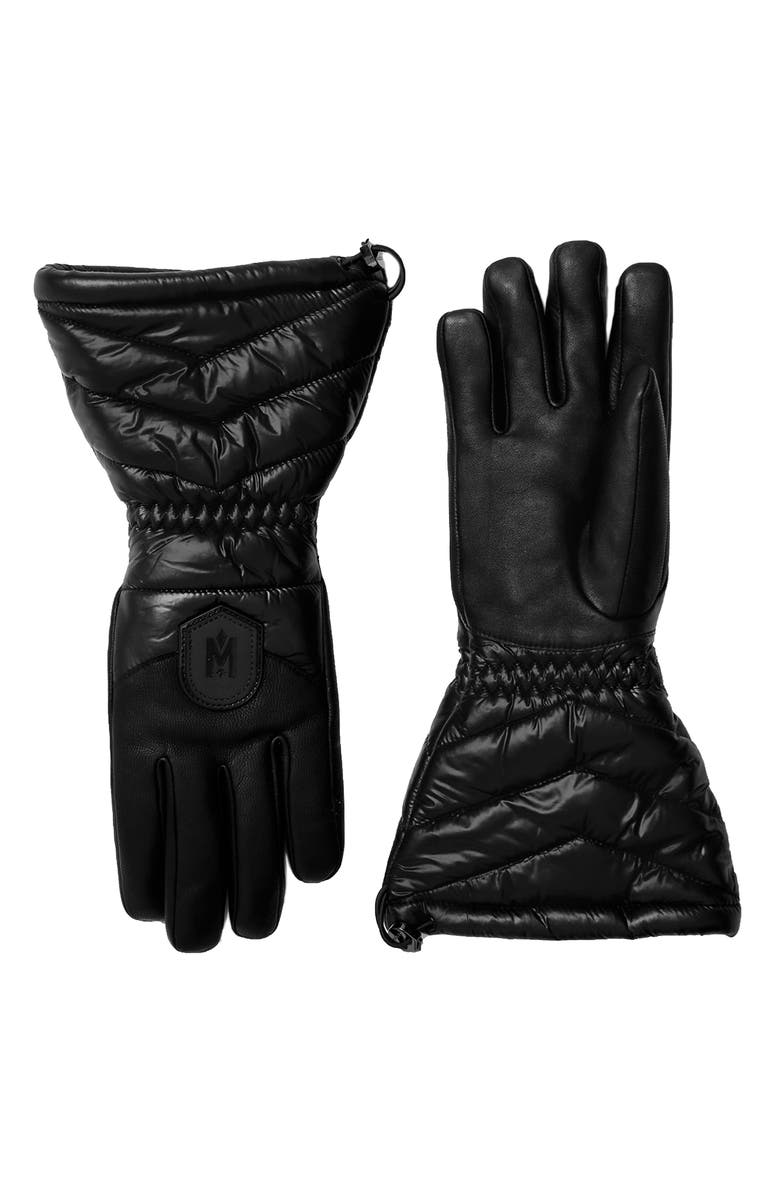 MACKAGE Performance Gloves, Main, color, 001